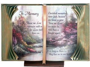 memorial book of love