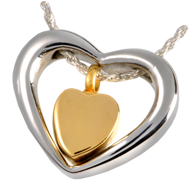 stainless steel cremation jewelry pendant