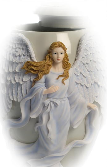 Ceramic Angel cremation Urn