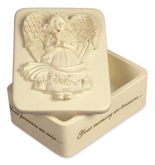 inspirational angel cremation keepsake