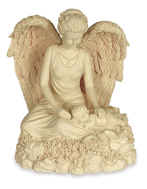 Infant angel urn