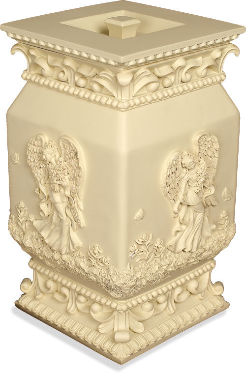 polystone angel cremation urn
