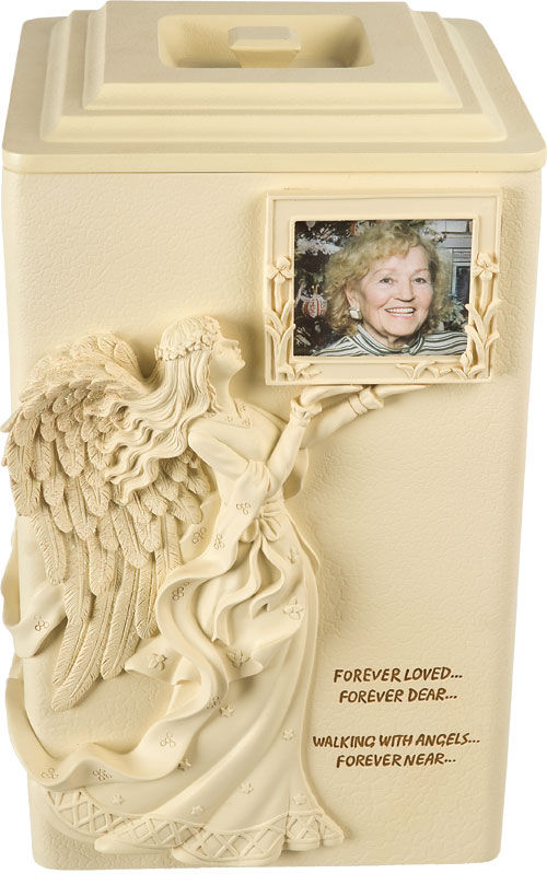 Angels Near with picture frame Cremation Urn