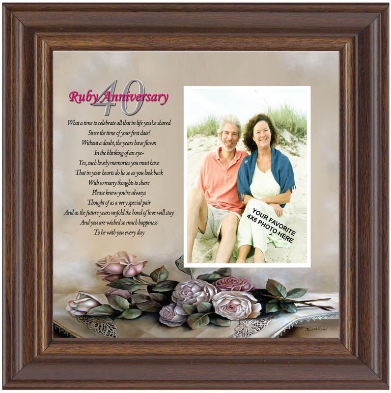 pics photos anniversary poem frame