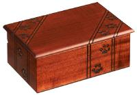 Paw print wood pet urm cremation  urn
