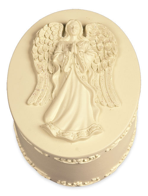 serene angel keepsake box