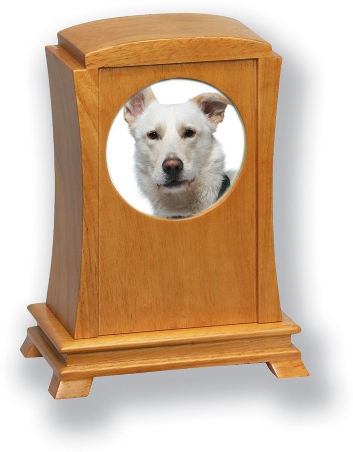 Pet Cremation Urns Wood Oak Wood Photo Frame Pet Urn