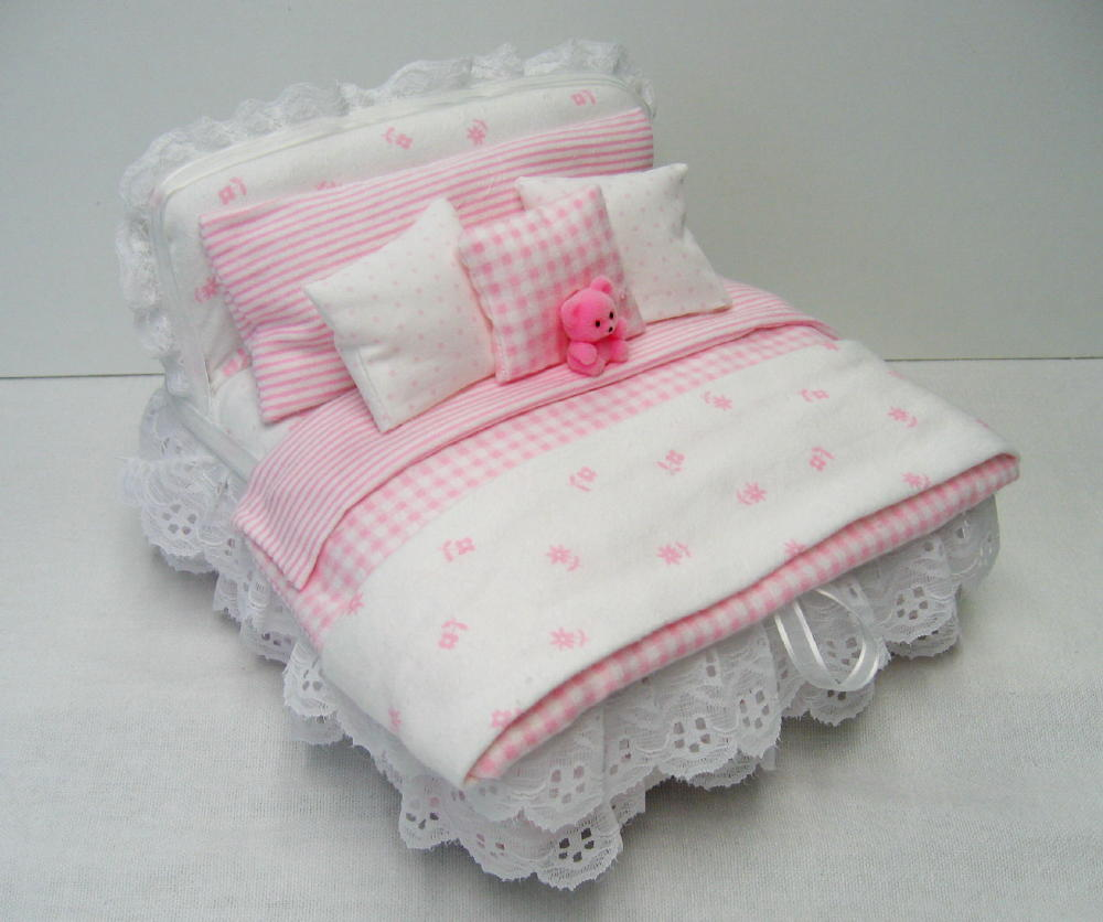 Little Girls memorial bed box