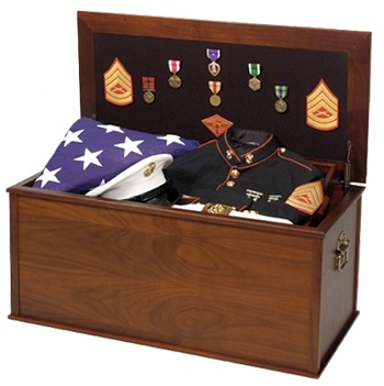 Military personal effects chest