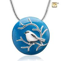 Pendant Blessing Birds r Blue