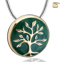 ree of Life Two Tone Cremation Pendant