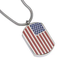 Pendant Dog Tag – USA Flag