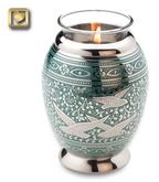 flying home votive candle urn