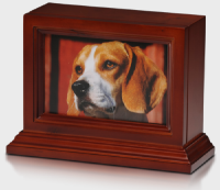 pet photo frame cremation urn