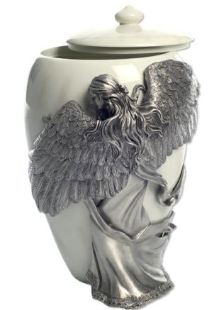 Urn shown with open lid