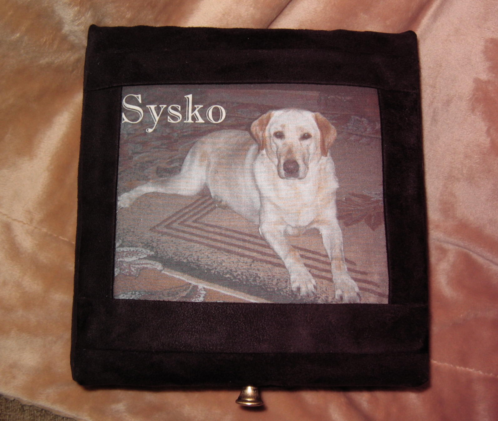 Memorial picture keepsake box for pet