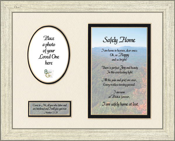 safely home framed memorial
