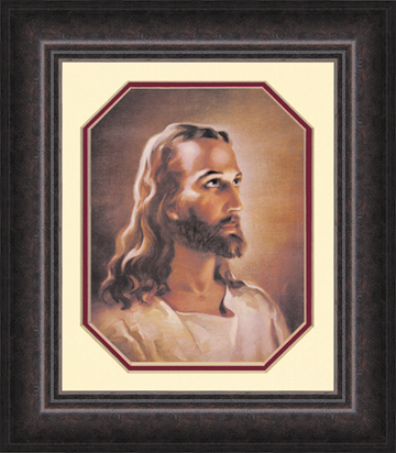 Framed picture of Jesus